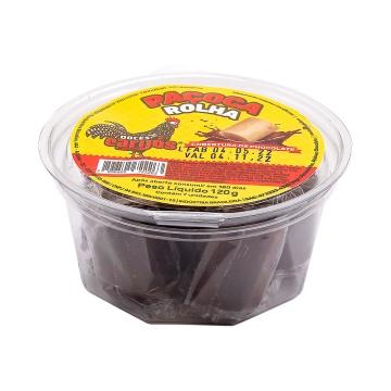 Paçoca com cobertura de chocolate Carijós c/7 und - 120g